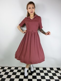 画像1: ☆Lindy Bop☆Shirley Victorian Rose Tea Dress 11号
