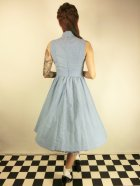 他の写真3: ☆Lindy Bop☆Joanne Powder Blue Chambray Swing Dress 15号