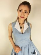 他の写真2: ☆Lindy Bop☆Joanne Powder Blue Chambray Swing Dress 15号