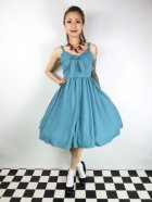 他の写真1: ☆Lucky13☆THE LUCILLE SWING DRESS-JADE(L)13号