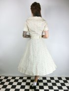 他の写真3: ☆Collectif Vintage☆ BRETTE POLKA DOT SWING DRESS Cream 9号