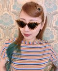 ☆Collectif☆SUZIE Q SUNGLASSES Tortoiseshell