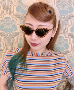 画像1: ☆Collectif☆SUZIE Q SUNGLASSES Tortoiseshell
