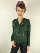 他の写真1: ☆HELL BUNNY☆Connie Jumper Dark Green(L)15号