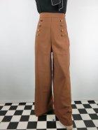 他の写真1: ☆Lindy Bop☆Adonia Classic Vintage Inspired Sailor Pants Cinnamon 13号