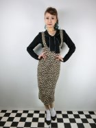 他の写真1: ☆Collectif☆ KAREN LEOPARD DUNGAREE SKIRT 15号