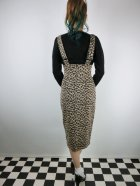 他の写真3: ☆Collectif☆ KAREN LEOPARD DUNGAREE SKIRT 15号