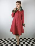 ☆HELL BUNNY☆Robinson Coat Red(XL)17号