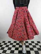 他の写真1: ☆HELL BUNNY☆Black Cherry 50s Skirt(S)13号