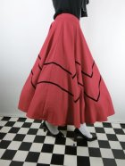 他の写真2: ☆Collectif☆ MILLA SWING SKIRT Red 13号
