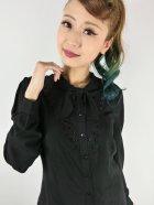 他の写真2: ☆HELL BUNNY☆Adelia Blouse Black(L)15号
