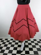他の写真1: ☆Collectif☆ MILLA SWING SKIRT Red 13号