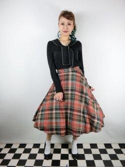 画像2: ☆HELL BUNNY☆Oktober 50s Skirt(XL)17号
