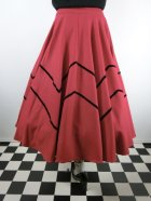 他の写真3: ☆Collectif☆ MILLA SWING SKIRT Red 13号