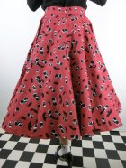 他の写真3: ☆HELL BUNNY☆Black Cherry 50s Skirt(L)17号
