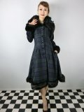 ☆Collectif Vintage☆PEARL BLACKWATCH CHECK COAT 17号