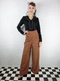 ☆Lindy Bop☆Adonia Classic Vintage Inspired Sailor Pants Cinnamon 17号
