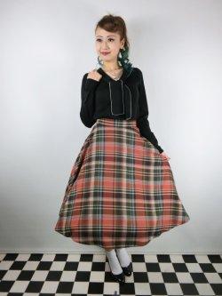 画像1: ☆HELL BUNNY☆Oktober 50s Skirt(XL)17号