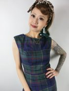 他の写真2: ☆Collectif ☆ASTRID SCOTTY CHECK PENCIL DRESS 13号