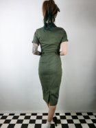 他の写真3: ☆Collectif☆CATERINA VINTAGE PENCIL DRESS Olive Green 7号