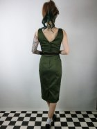 他の写真3: ☆Collectif☆HEPBURN VINTAGE PENCIL DRESS Green 9号