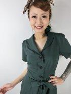 他の写真2: ☆Collectif☆HATTIE 40S FLARED DRESS Green 11号