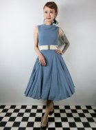 他の写真1: ☆Collectif ☆TARA PLAIN DRESS Blue 7号