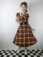他の写真1: ☆Collectif☆MIMI PUMPKIN CHECK DOLL DRESS 15号