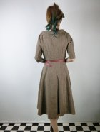 他の写真3: ☆Lindy Bop☆Aggi Mink Tweed Swing Dress & Jacket Set 13号