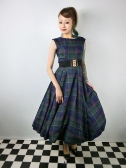 画像1: ☆Collectif ☆ASTRID SCOTTY CHECK DRESS 13号