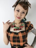 他の写真2: ☆Collectif☆MIMI PUMPKIN CHECK DOLL DRESS 15号