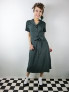 他の写真1: ☆Collectif☆HATTIE 40S FLARED DRESS Green 7号