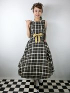 他の写真1: ☆Collectif Vintage☆ SILVA GEEK CHECK SWING DRESS 9号