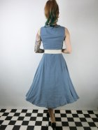 他の写真3: ☆Collectif ☆TARA PLAIN DRESS Blue 7号