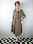 他の写真1: ☆Lindy Bop☆Aggi Mink Tweed Swing Dress & Jacket Set 13号
