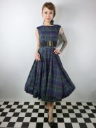 他の写真1: ☆Collectif ☆ASTRID SCOTTY CHECK DRESS 15号
