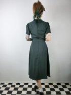 他の写真3: ☆Collectif☆HATTIE 40S FLARED DRESS Green 17号