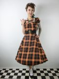 ☆Collectif☆MIMI PUMPKIN CHECK DOLL DRESS 7号