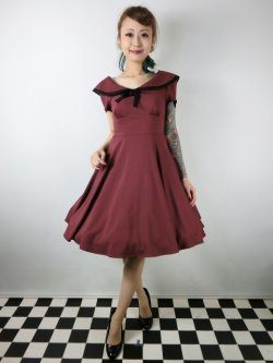 画像1: ☆HELL BUNNY☆Thea Dress (M)13号