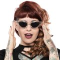 SOURPUSS☆CAT EYE SUNGLASSES GLITTER