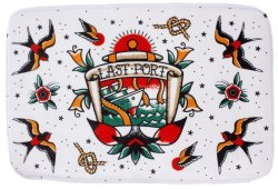 画像1: SOURPUSS☆LAST PORT BATH MAT