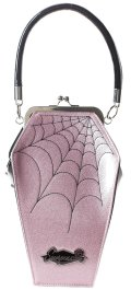 SOURPUSS☆COFFIN SPARKLE PURSE PINK