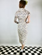 他の写真3: ☆Collectif☆ JUDY RIBBON CHECK PENCIL DRESS Ivory 9号