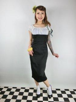 画像1: ☆Collectif ☆CESIRA PENCIL DRESS Black 13号