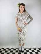 他の写真1: ☆Collectif☆ JUDY RIBBON CHECK PENCIL DRESS Ivory 9号