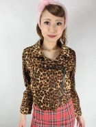 他の写真1: SOURPUSS ☆MOTO JACKET LEOPARD(M)11号