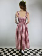 他の写真3: ☆Collectif☆IRIS STRAWBERRY GINGHAM DRESS 11号