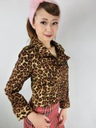 他の写真2: SOURPUSS ☆MOTO JACKET LEOPARD(M)11号