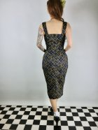 他の写真3: ☆Collectif☆TESS HATCH CHECK PENCIL DRESS Navy 17号