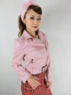 他の写真2: ☆H&R☆Pink Lady Faux Leather Jacket 11号
